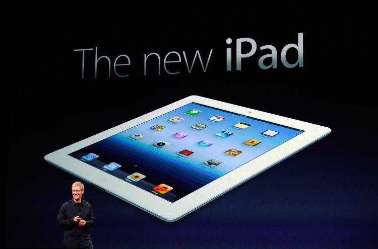 ipad 3 apple stellt neue version des tablets vor. Black Bedroom Furniture Sets. Home Design Ideas
